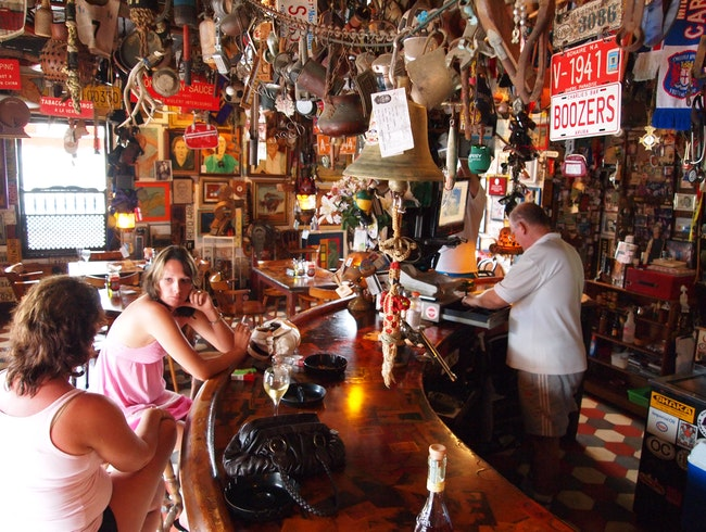 Sidle Up to Charlie's Bar in San Nicholas