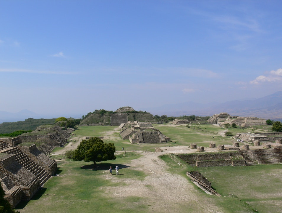 Ancient Hilltop Capital Monte Alban  Mexico