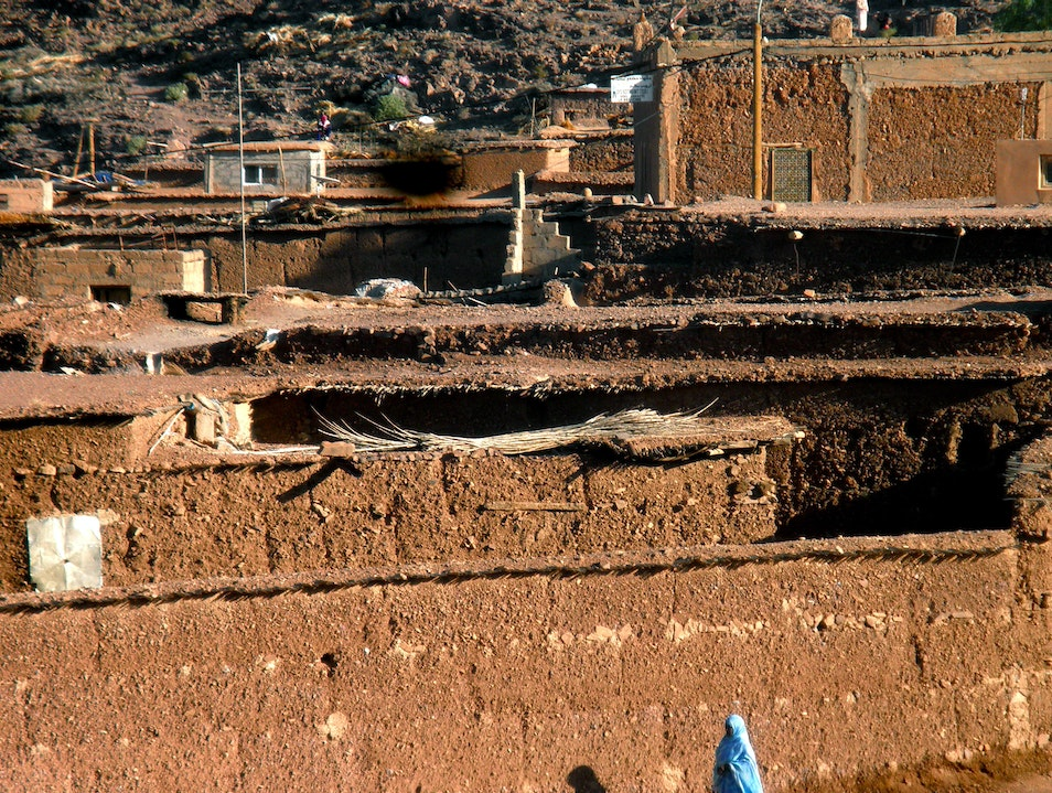 Oasis of Fint, Morocco
