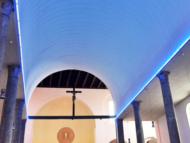 Contemporary Art in a Church