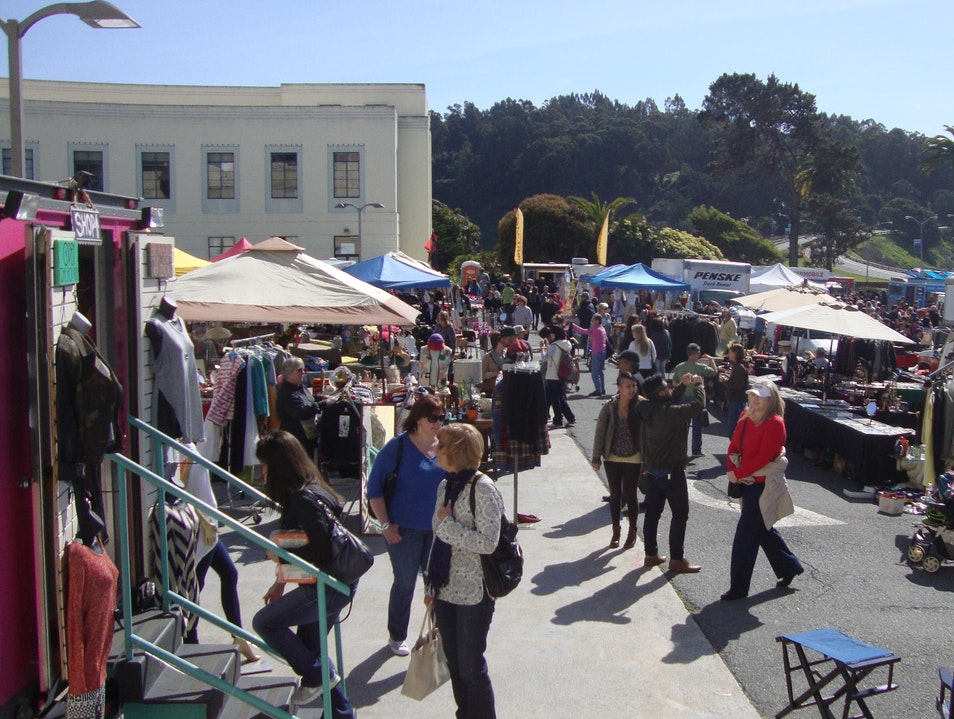 Treasure Island Flea Market San Francisco California United States