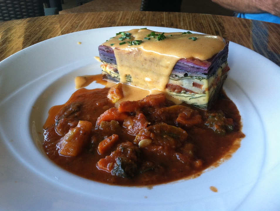 Enjoy a Molokaʽi Sweet Potato Frittata in Napili Lahaina Hawaii United States