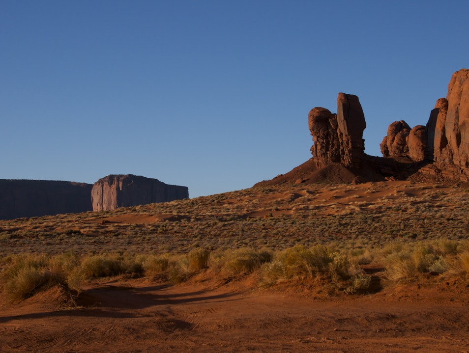 Another Day Hiking... Oljato Monument Valley Utah United States