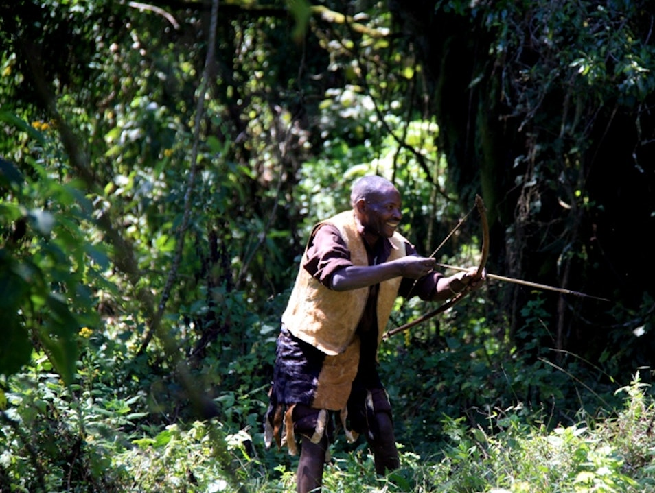 A day in the life of the Batwa