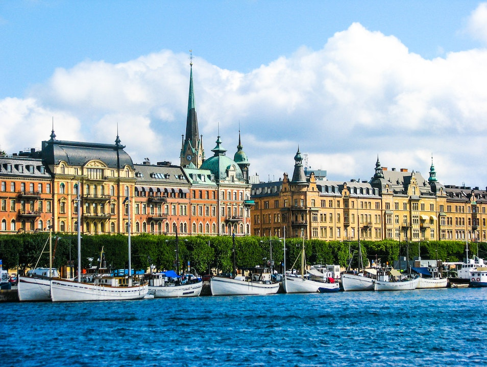 Summer in Scandinavia Stockholm  Sweden