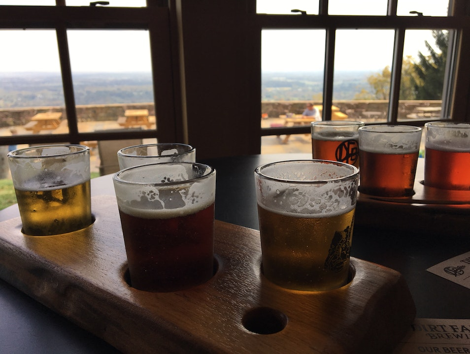 Beautiful view, tasty beer! Bluemont Virginia United States