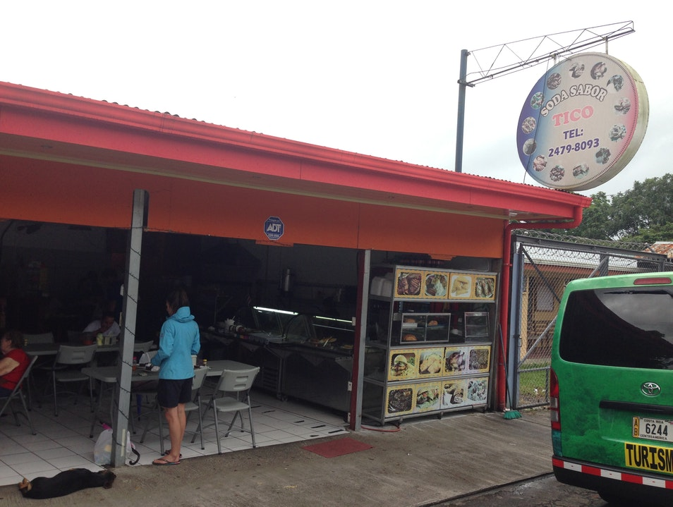 Authentic local spot for traditional Costa Rican fare Arenal Volcano National Park  Costa Rica
