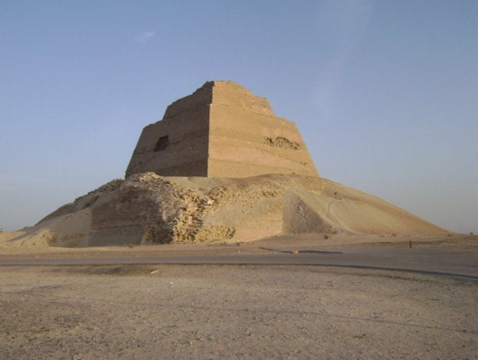 The Lost Pyramid of Meidum, Egypt