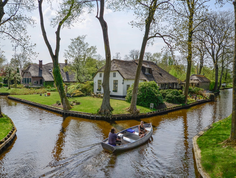 The perfect place to retire Giethoorn  The Netherlands