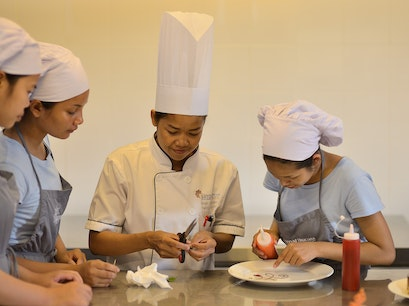 Ecole du Bayon Pastry School Cafe Siem Reap  Cambodia