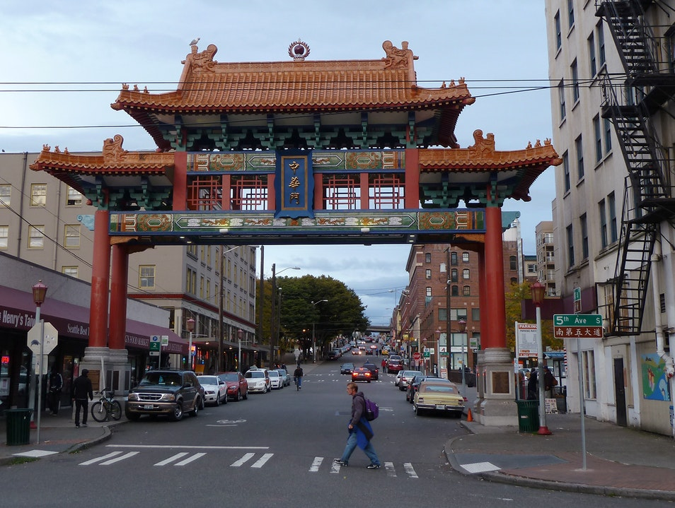 Old Chinatown, New Gate Seattle Washington United States