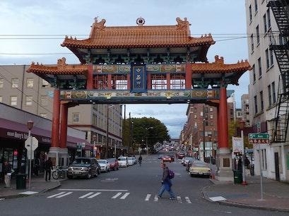 Chinatown Gate Seattle Washington United States
