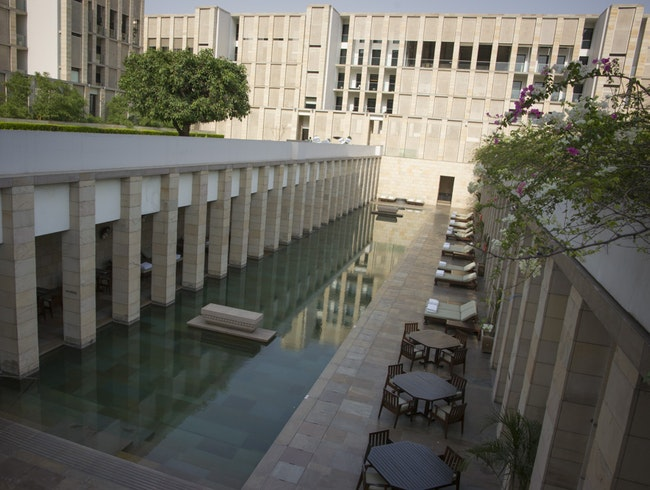 Contemporary Calm in New Delhi