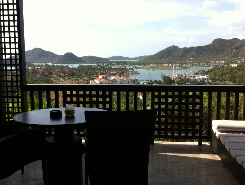 View From our Room in Antigua!!!