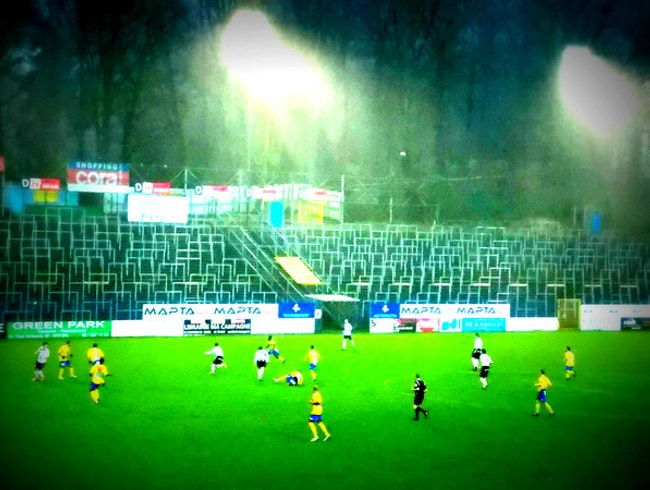 A rainy game in St Gilles