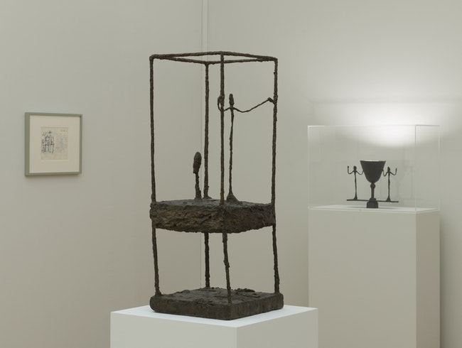 Giacometti Before Lunch