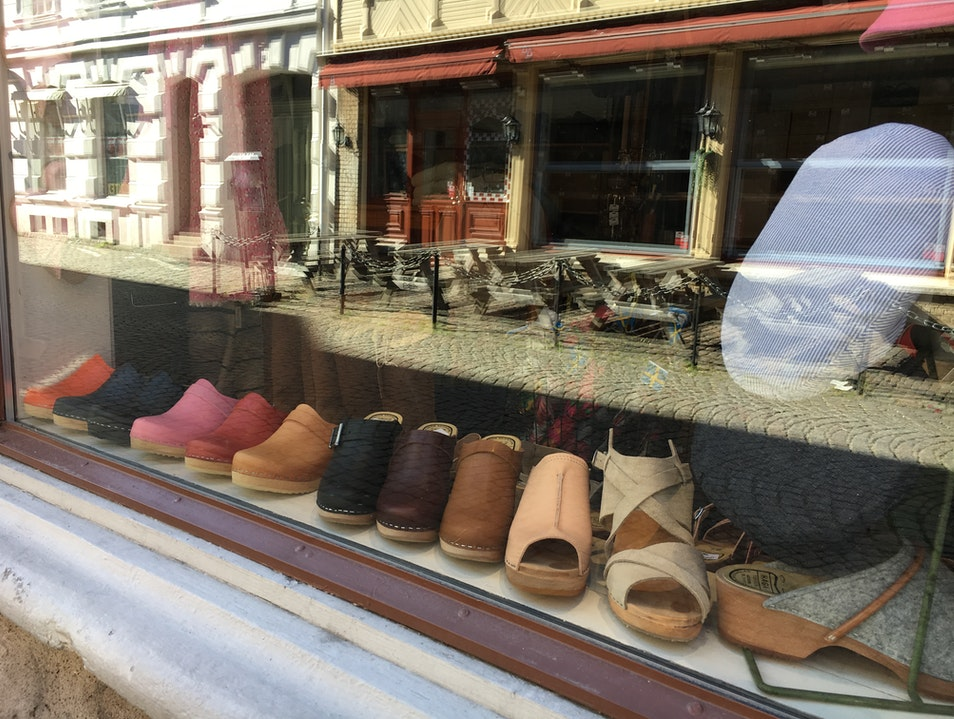 Take a Walk in Old-Fashioned Clogs Gothenburg  Sweden