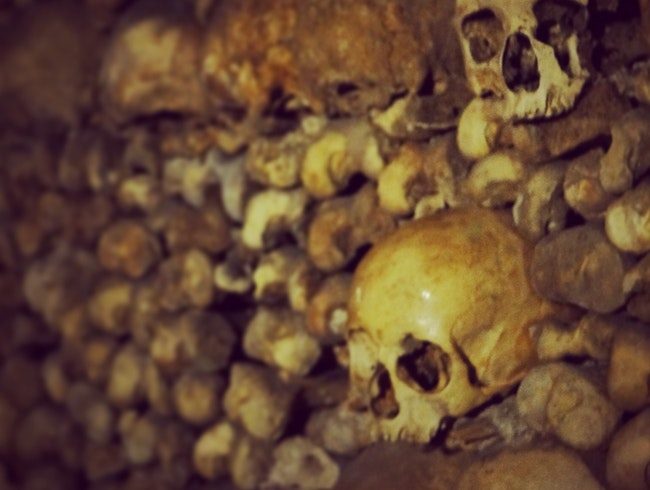 Explore the Catacombs of Paris