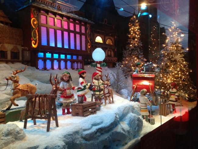 Holiday Windows in Toronto