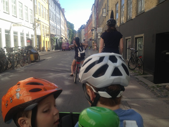 A Great, Fun Overview of Copenhagen by Bike with Kids