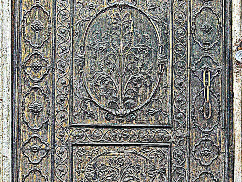 The Doors of the Red Fort