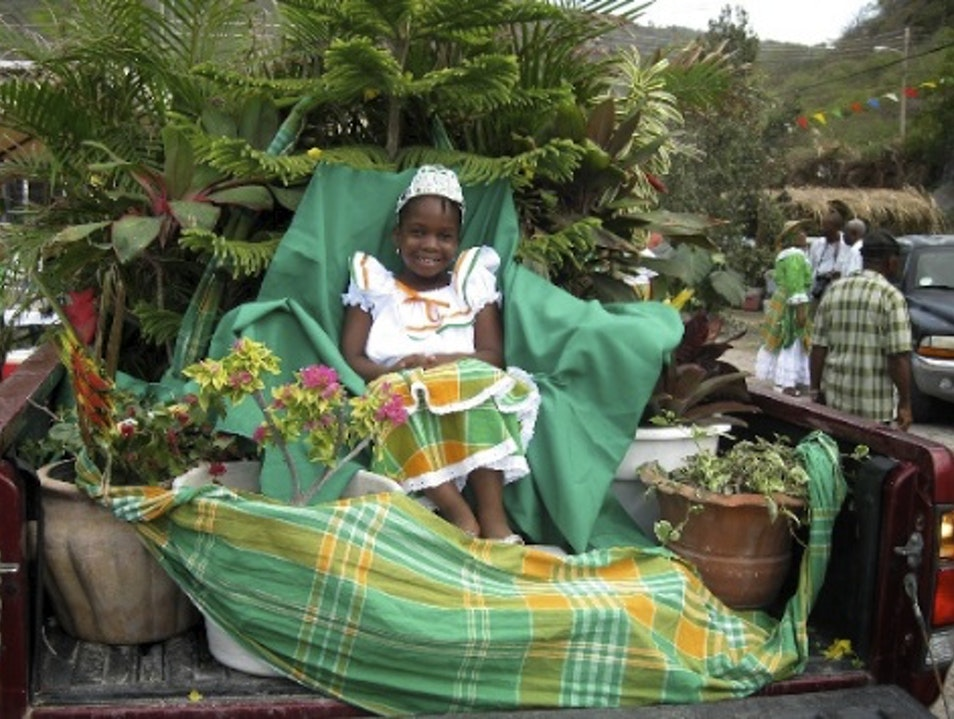Celebrate St. Patrick's Day on the Other Emerald Island Saint Peter's  Montserrat