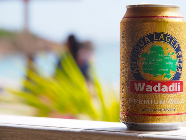 Real Men Drink Wadadli Gold