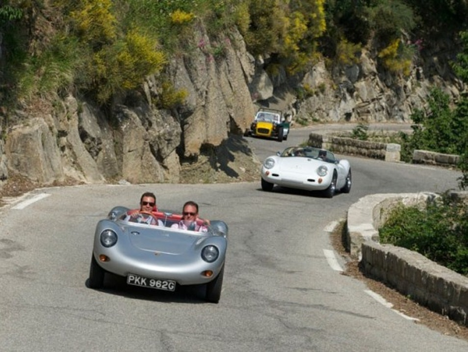 Retro Roadsters & the Cote d'Azur Nice  France