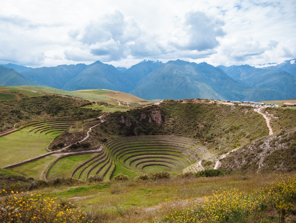 Moray Archaeological Site Maras  Peru
