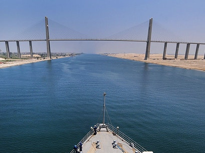 Mubarak Peace Bridge Al Qantarah Gharb  Egypt