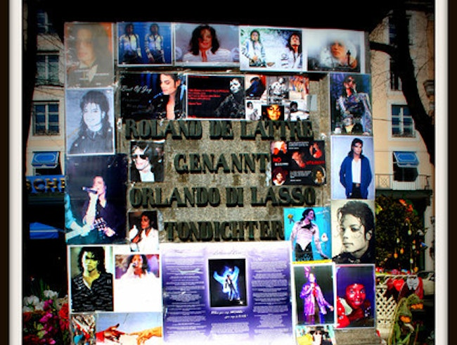Worshiping MJ in Munich
