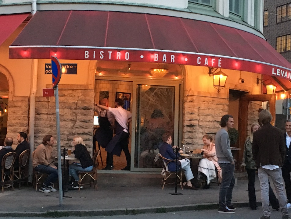 French-Style Bistro with Boules Gothenburg  Sweden