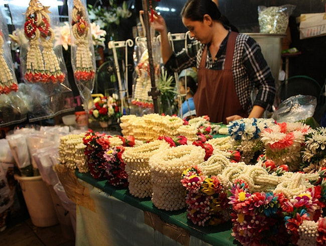 Night Flower Market (Pak Klong Talaat)