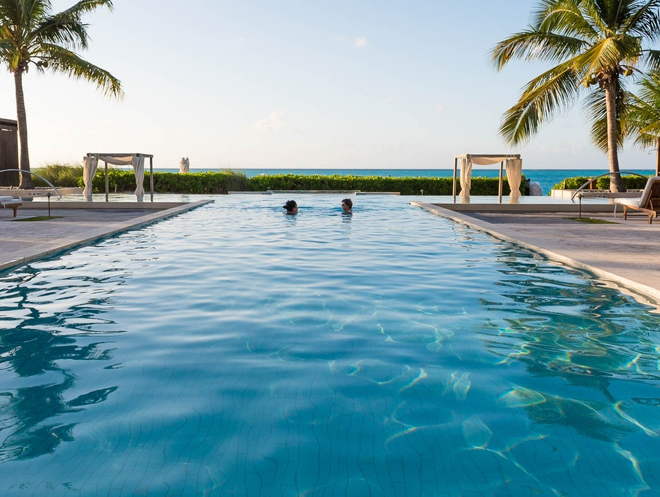The Pools at Grace Bay Club   Turks and Caicos Islands