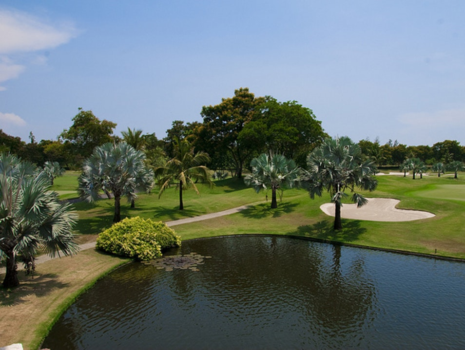 Get in the Swing at a Bangkok Golf Course