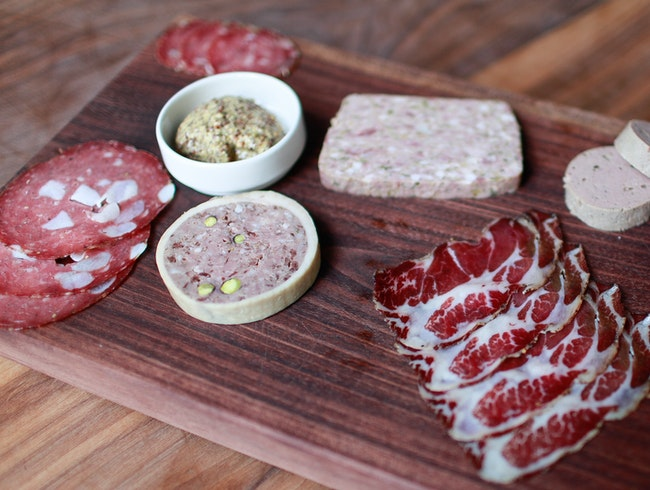 The Most On-Point Charcuterie at Trou Normand