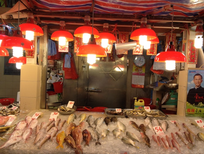 Hong Kong's neighbourhood wet markets