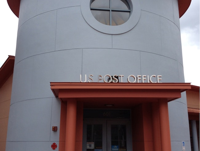 US Post Office at Celebration, Florida