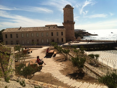 Fort st jean and Museum of European and Mediterranean Civilizations Marseille  France