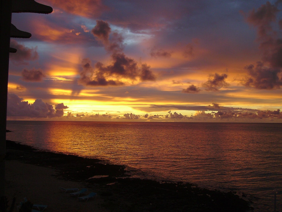 Be Wowed by the Sunset on the Cayman Islands Bodden Town  Cayman Islands