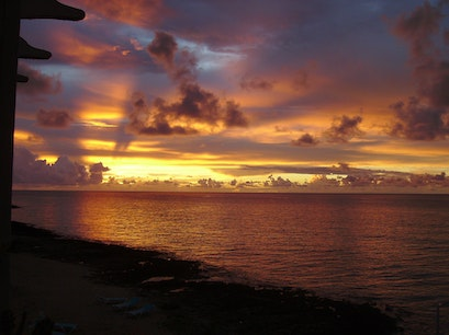 Sunsets on Grand Cayman Rum Point  Cayman Islands