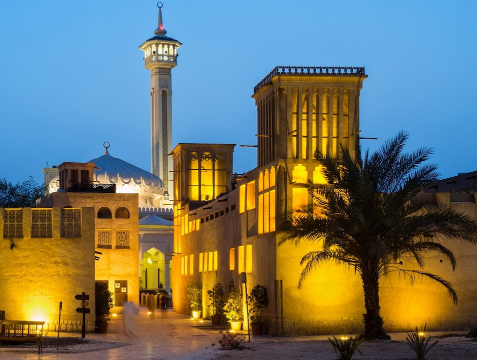 Al-Fahidi Historical Neighborhood Dubai  United Arab Emirates