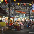 night market  Bangkok  Thailand