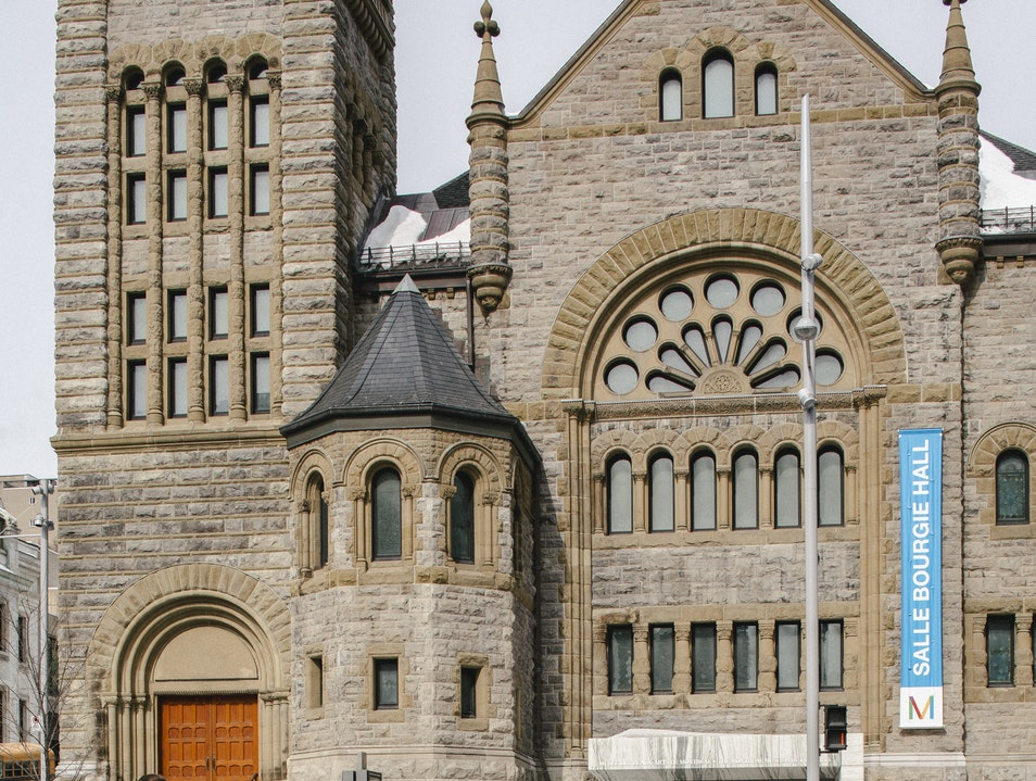 An Old Church Made New: the Bourgie Concert Hall Montreal  Canada