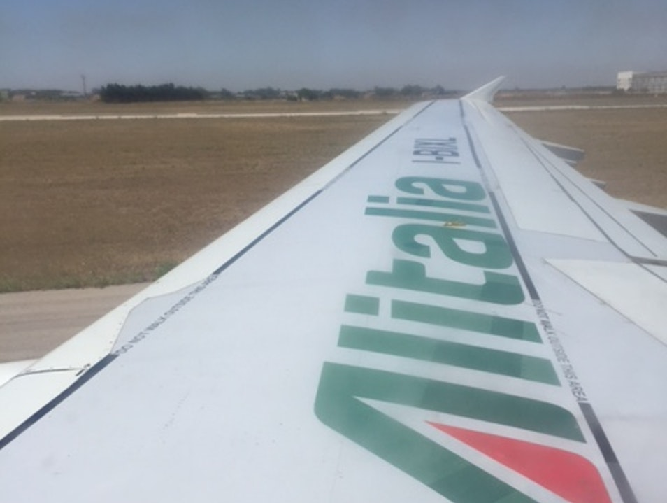 Not Bad for a National Flag Carrier Airline Brindisi  Italy