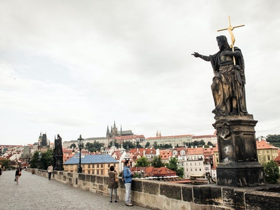 Charles Bridge Prague  Czechia