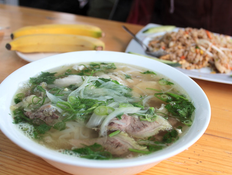 Authentic Vietnamese Food in a Warehouse
