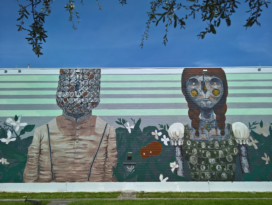 SHINE Mural Festival: An Annual Celebration of the Power of Art in Public Spaces Saint Petersburg Florida United States