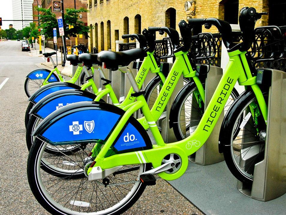 Cruise the City with Nice Ride Bike Share