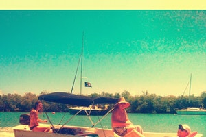 Boating in La Parguera